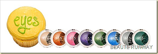 The Body Shop baked Eye shadows