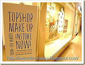 Topshop Makeup in Singapore