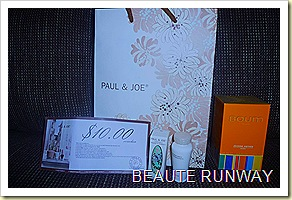Paul & Joe Sahara Goodies bag