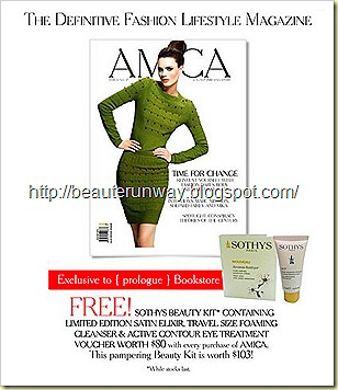 Sothy cleanser and eye treatment - Amica