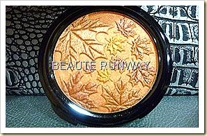 The Body Shop Autumn Face Pressed Compact Powder Chestnut