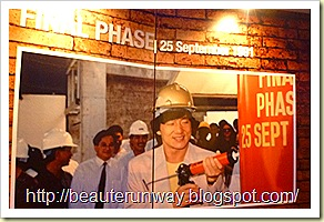 Jackie Chan at Golden Village Yishun site