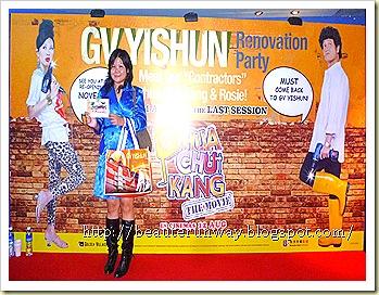 Irene Ang, Gurmit Singh PCK movie Beaute Runway