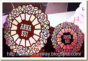 Anna Sui Eyeshadow and single compact