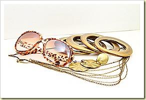 Golden Leopard (Glasses SGD15.90, Ring9.90, Earring SGD7.90, Bracelets 11.90, Necklace SGD13.90)