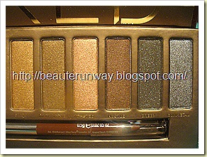 Urban Decay Naked Palette Close up 2