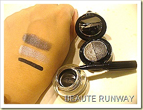 Swatches Tony Moly Backstage Self Smoky Eye Collection
