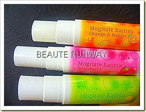 Mogitate Kajitsu Lip balm