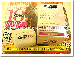 Nivea Sparkling Whitening DAy Care anti-aging
