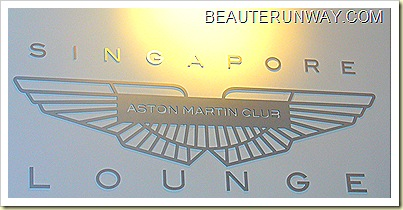 Aston Martin Club Lounge Singapore