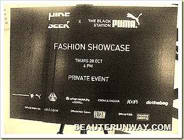 Hide & Seek X The Black Station Puma Fashion Showcase