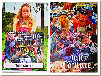 Juicy Couture Calender and USB
