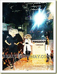 Toni & Guy Lady Gaga 15th Anniversary Hair launch