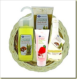 Boots Ingredients Extract gift set