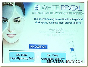 VICHY BI-WHITE REVEAL SPOT INTERVENTION