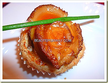 Old Hong Kong Legend Whole South African Abalone with chicken puff
