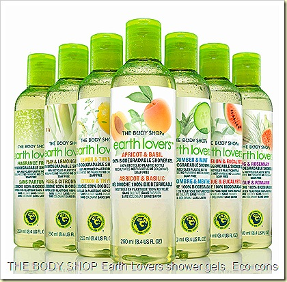 The Body Shop Shower Gels - Earth Lovers Eco-Conscious Biodegradable  soap free