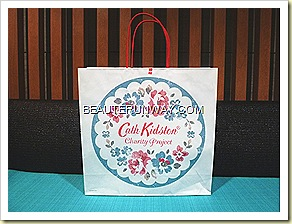 UNIQLO Cath Kidston Charity Project  in Singapore
