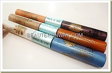 Paul & Joe Summer 2011  Blue Horizon Eye Gloss Duo B Limited Edition