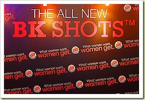 BK Shots What Women Want, Women Get Singapore Launch