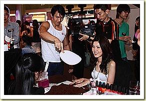 BK Shots Launch Manicure Hunk with Fan