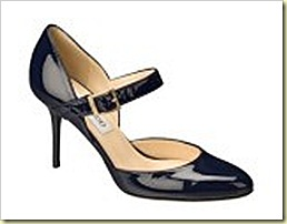 JIMMY CHOO 24 7 LEILA IN NAVY PATENT