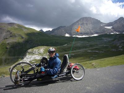 Handbike et brèche de Roland