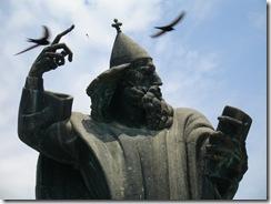Sculpture in Split by Mestrovic