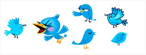 Free Twitter Birds in vector format