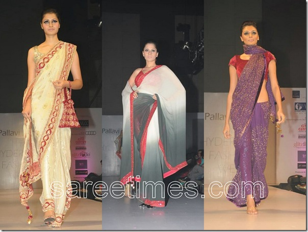 Pallavi-Jaipur-Sarees-Hyderabad-Fashion-week-2010
