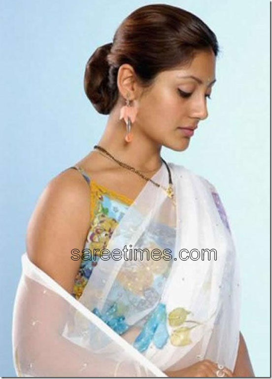 Rimi-sen-White-Saree
