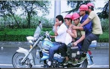 5 on a motorcycle