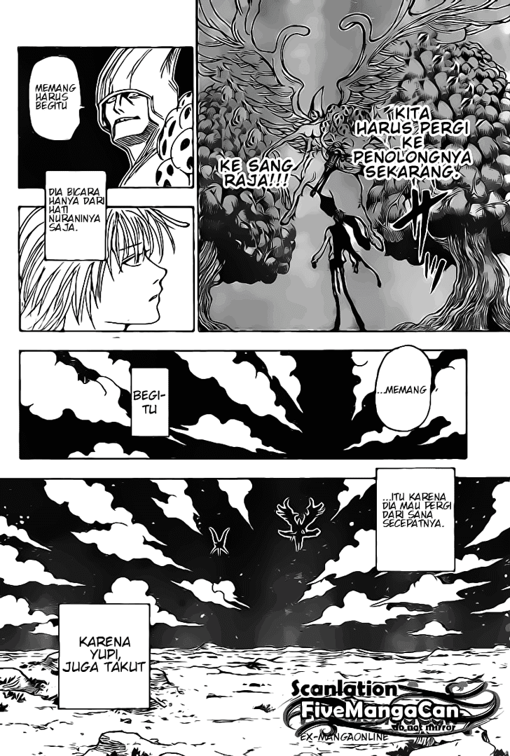 komik manga hunter x hunter 290 indonesia