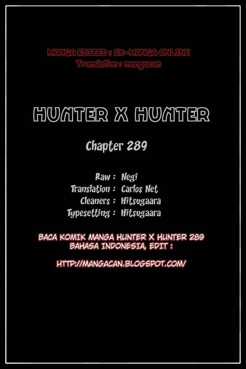 hunter x hunter 288 bahasa indonesia