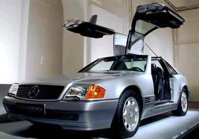 Karmann Mercedes Benz Sl Gull Wing