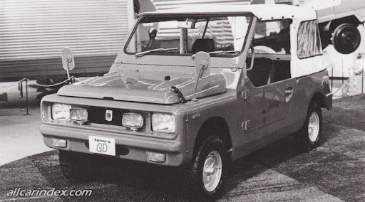 Image result for Mitsubishi Minica jeep concept