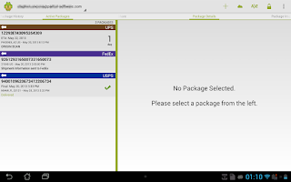 Screenshot of Package Buddy