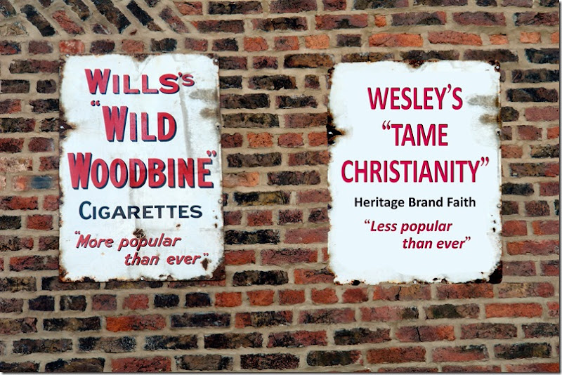 WESLEYS TAME CHRISTIANITY