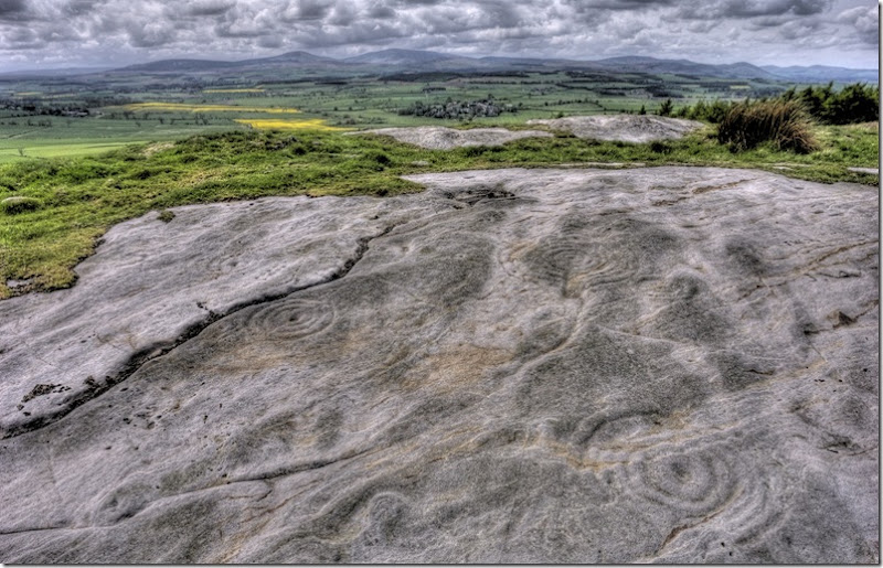 northumbrian rock art at  chatton park hill