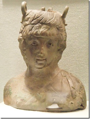 bacchus the roman god of wine reverlry and fertility from britain