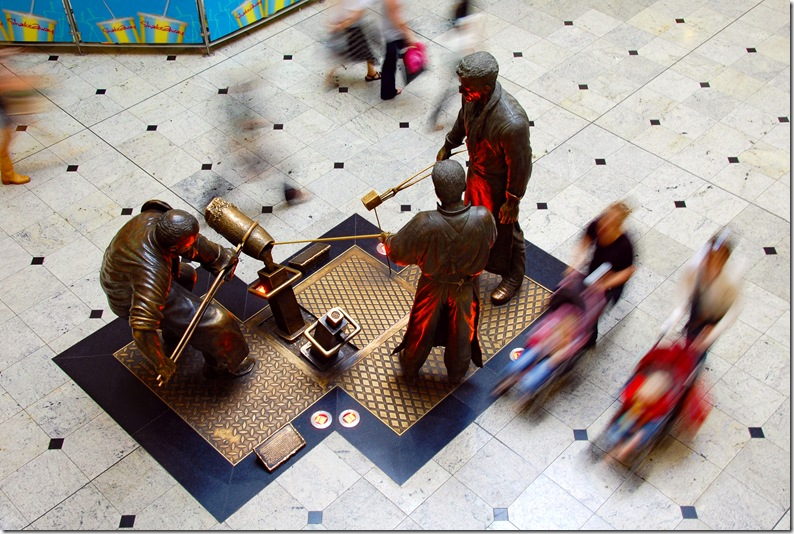 meadowhall sculture