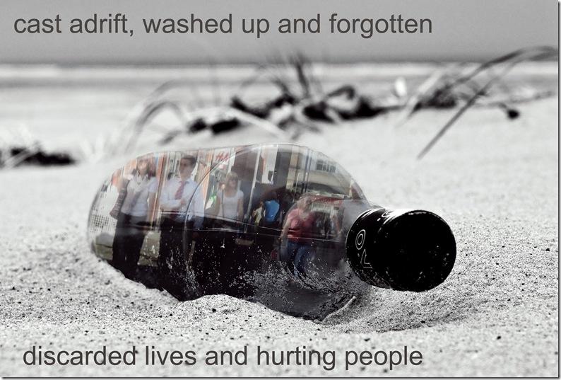 cast adrift message in a bottle copy