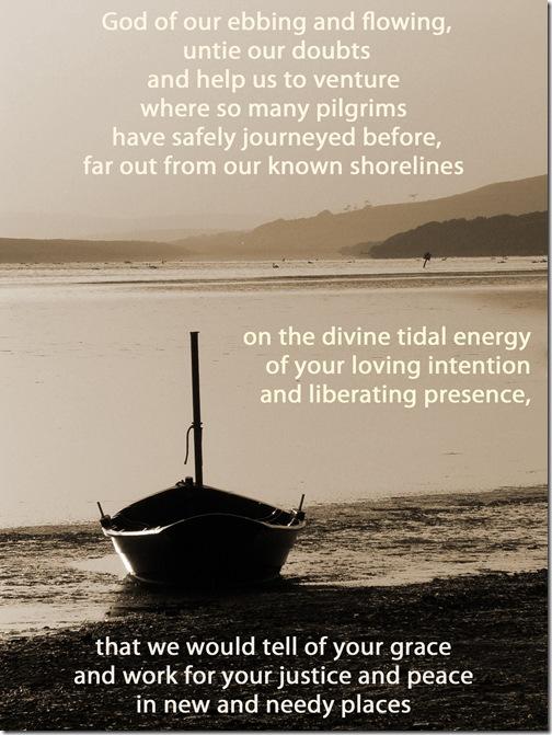 pilgrimage missional prayer