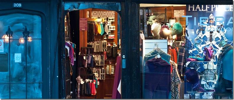 high street advent shops