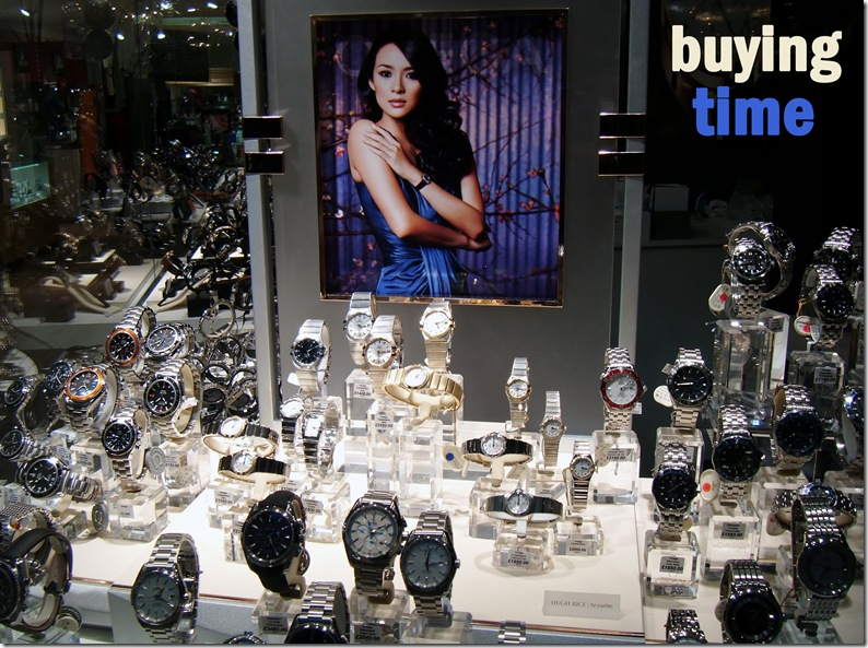 buying time copy
