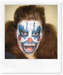 maquillaje de payso malo nosdisfrazamos.com