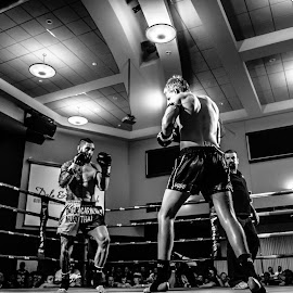 Round 5 by Matt Horspool - Sports & Fitness Boxing ( title fight, muay thai, fighting, boxing, tattoo, kickboxing )
