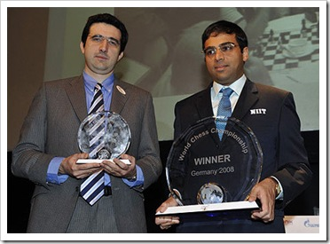 vishwanathan  anand wins world chess championship