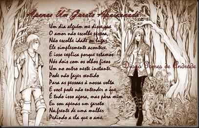 15.1 Apenas Um Garoto Apaixonado (Love is around us - hellobaby)