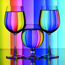Neon Colors by Rakesh Syal - Artistic Objects Glass